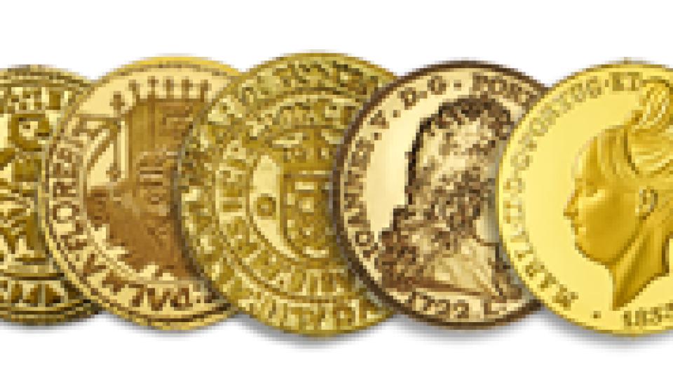Casa da Moeda recebe exposição numismática 'Coleção D.Luís'