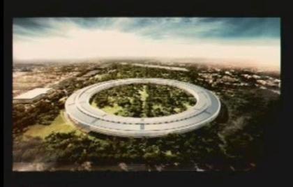 Escritório da Apple terá a forma de uma nave espacial