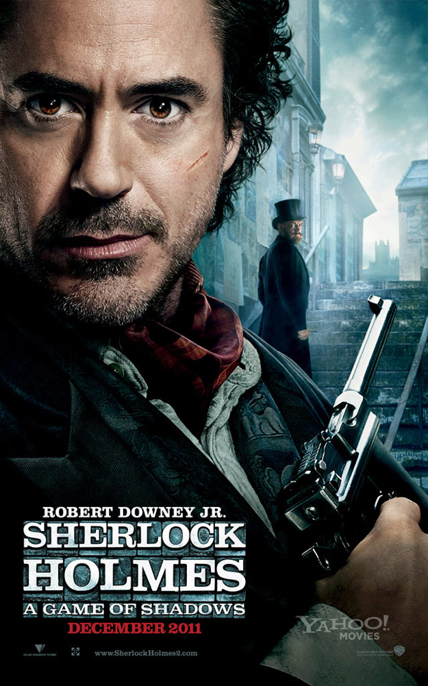 Sherlock Holmes 2 A Game of Shadows Poster (1)