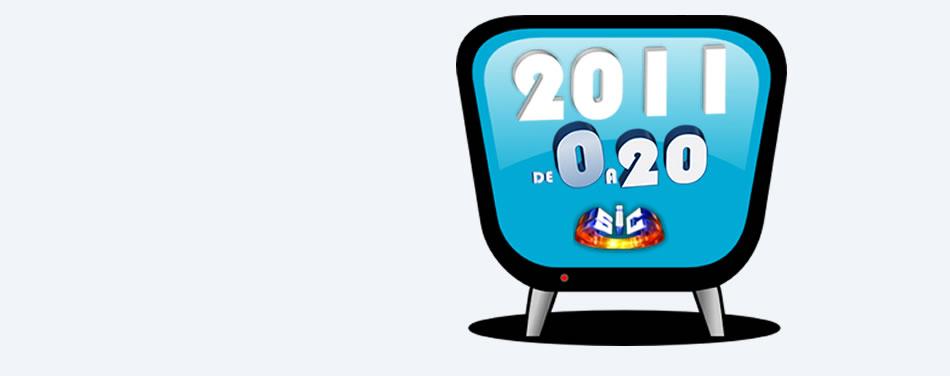 2011 de 0 a 20 - Especial sic