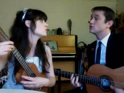 Dueto de Zooey Deschanel & Josepg Gordon-Levitt - What Are You Doing New Year's Eve?