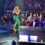 A candidata de Paulo Gonzo cantou e dançou