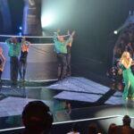 Foi a primeira actuação da noite com a participação dos bailarinos d'A Voz de Portugal