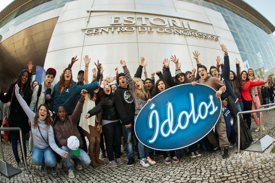 ÍDOLOS - 1º dia de casting no EstorilFotografia: © Lionel Balteiro/Fremantlemedia