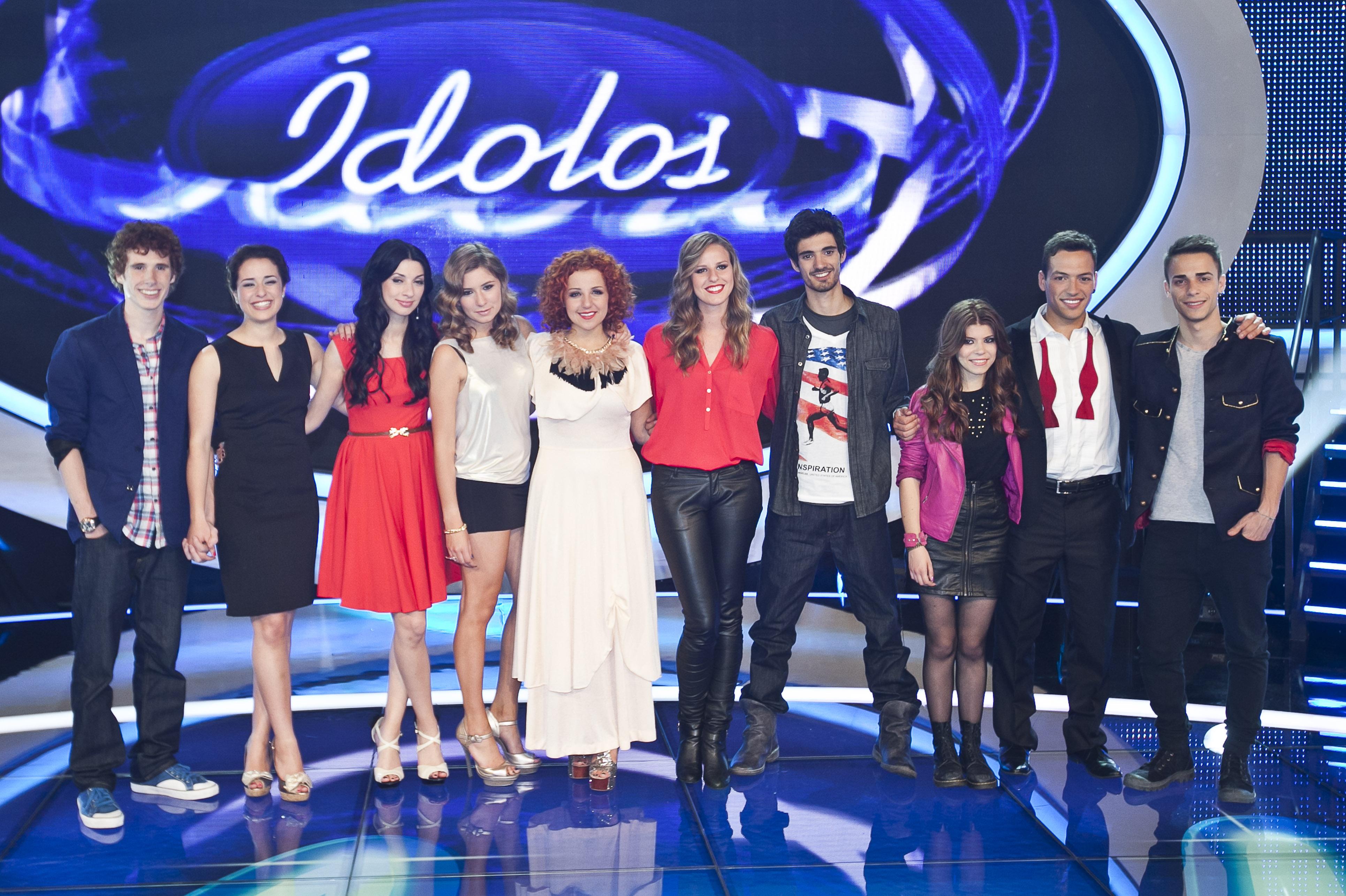 ÍDOLOS - 1ª Gala do programa da SIC