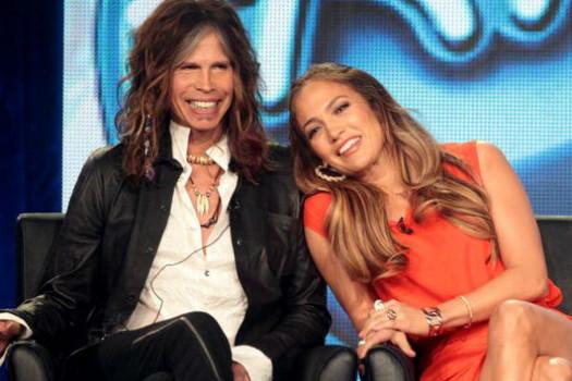 Steven Tyler e Jennifer Lopez