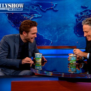 Robert Pattinson no The Daily Show