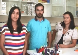 Susana Rosa, Bruno Neves e Teresa Cruz Rosete