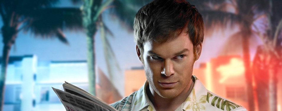 E17TVa - For Dawidziak - DEXTER, the critically acclaimed drama series about a serial killer, which recently completed its second season on premium cable network SHOWTIME, makes an unprecedented appearance on network television when it premieres Sunday, Feb