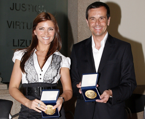 Jorge Gabriel e Sónia Araújo