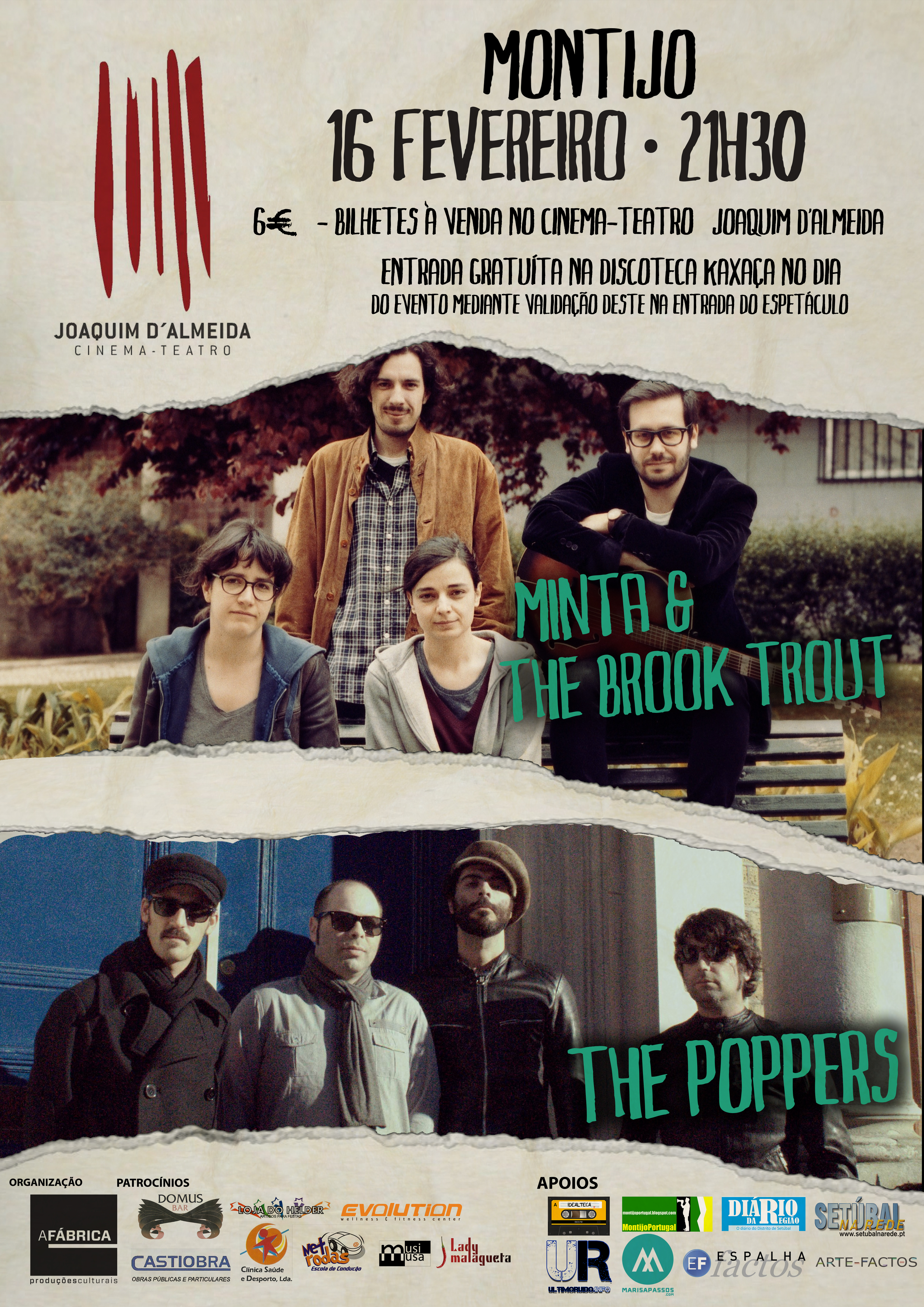 Minta & The Poppers