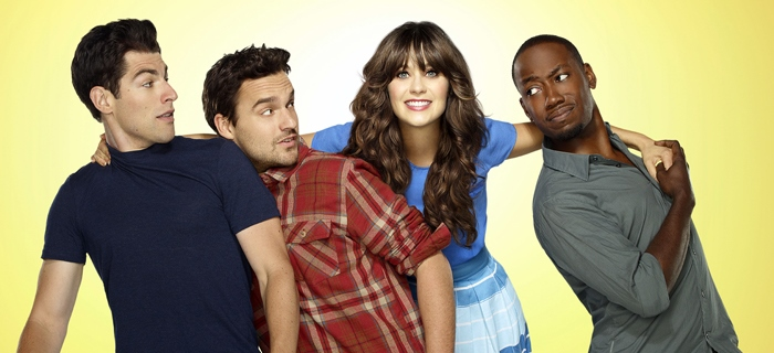 NEW GIRL:  The new comedy starring Zooey Deschanel as an adorkable girl who moves in with three single guys, changing their lives in unexpected ways, premieres Tuesday, Sept