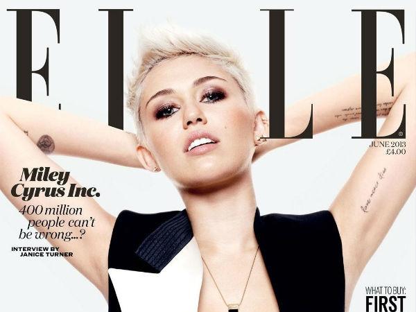 Miley Cyrus (ELLE)