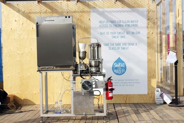 Máquina para purificar suor 1