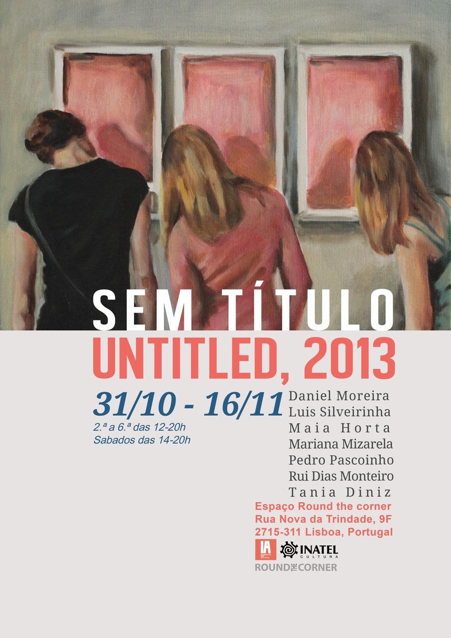 imagem oficial exposição Sem título-Untitled, 2013