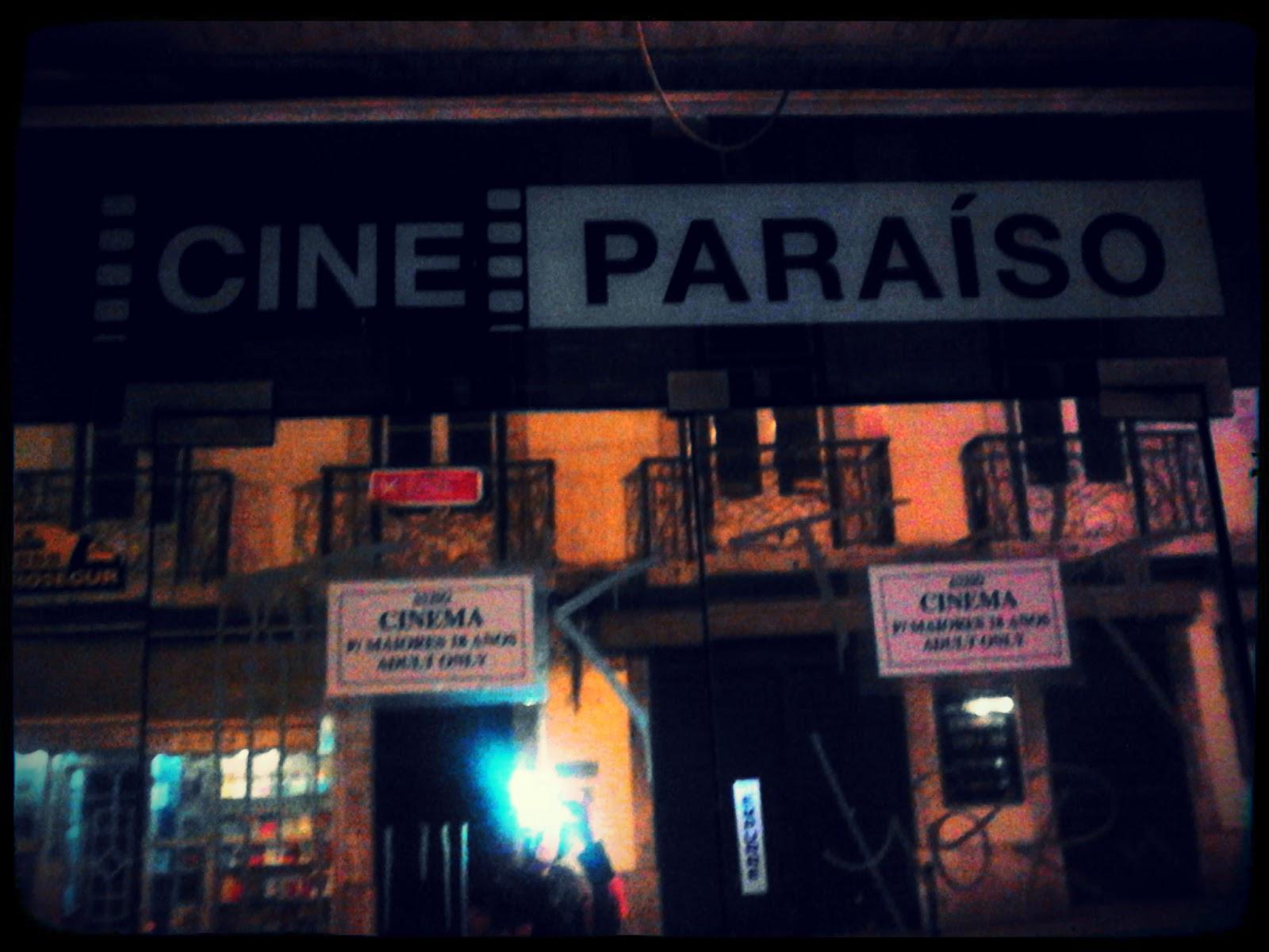 Cine Paraíso Lisboa outubro 2012