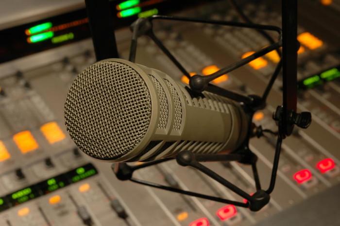 rádio microphone