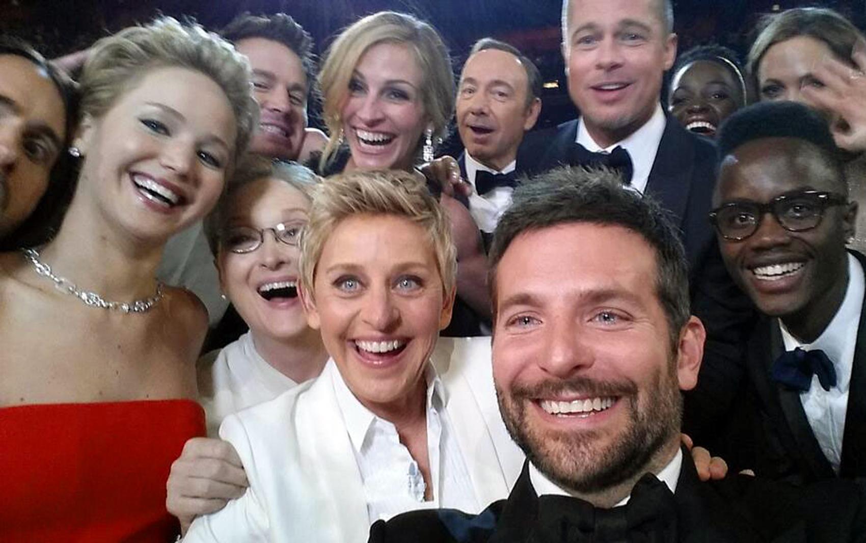 "A emblemática ""selfie"""