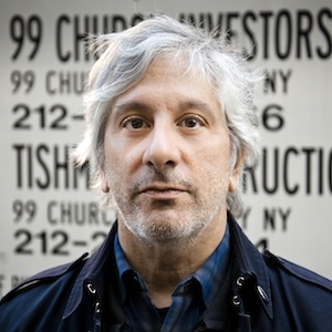 musician Lee Ranaldo, lower Manhattan