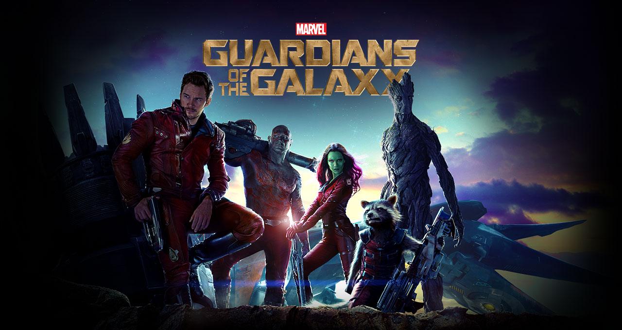 Guardiões da Galáxia - Imagem de Destaque