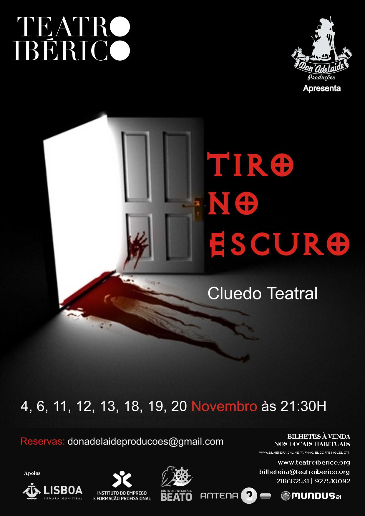Cartaz Cluedos Teatrais