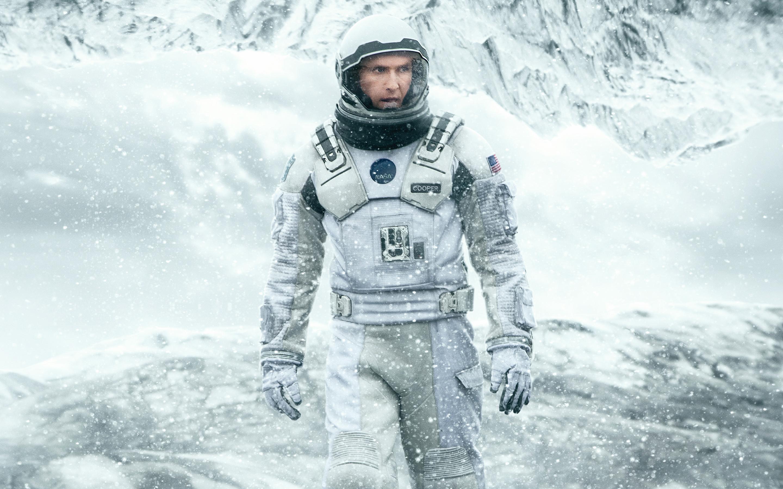 Matthew McConaughey em Interstellar