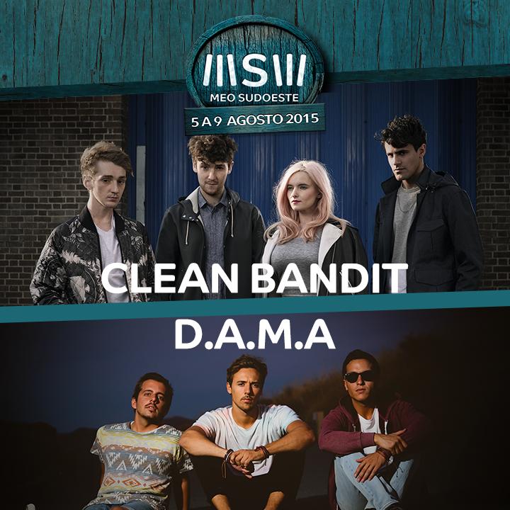 Clean Bandit +D
