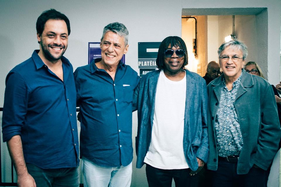 António Zambujo com Chico Buarque, Milton Nascimento e Caetano Veloso