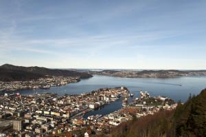 Vista de Floyen, Bergen