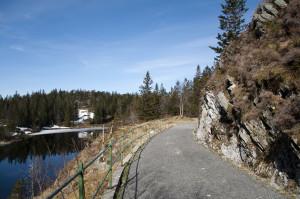 Blåmannsvatnet, Bergen