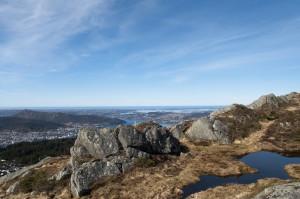 Blåmannen, Bergen