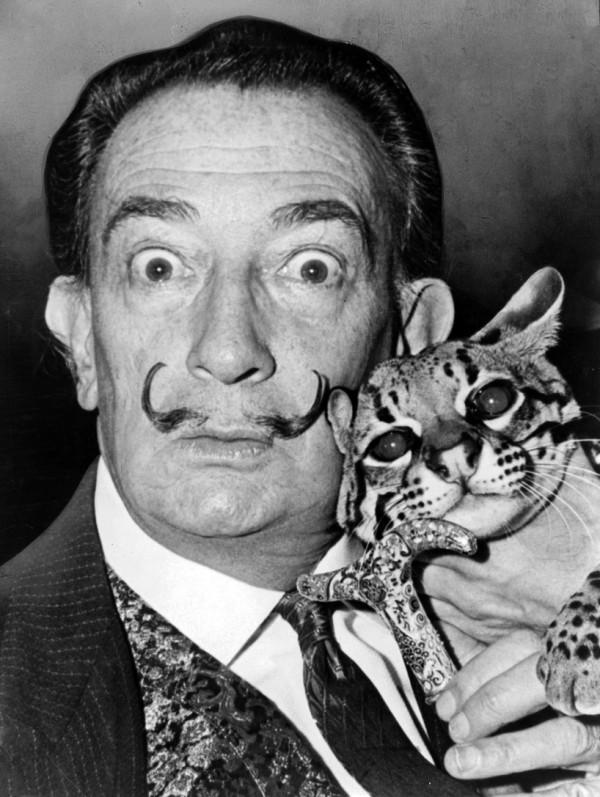 Salvador Dalí & Babou