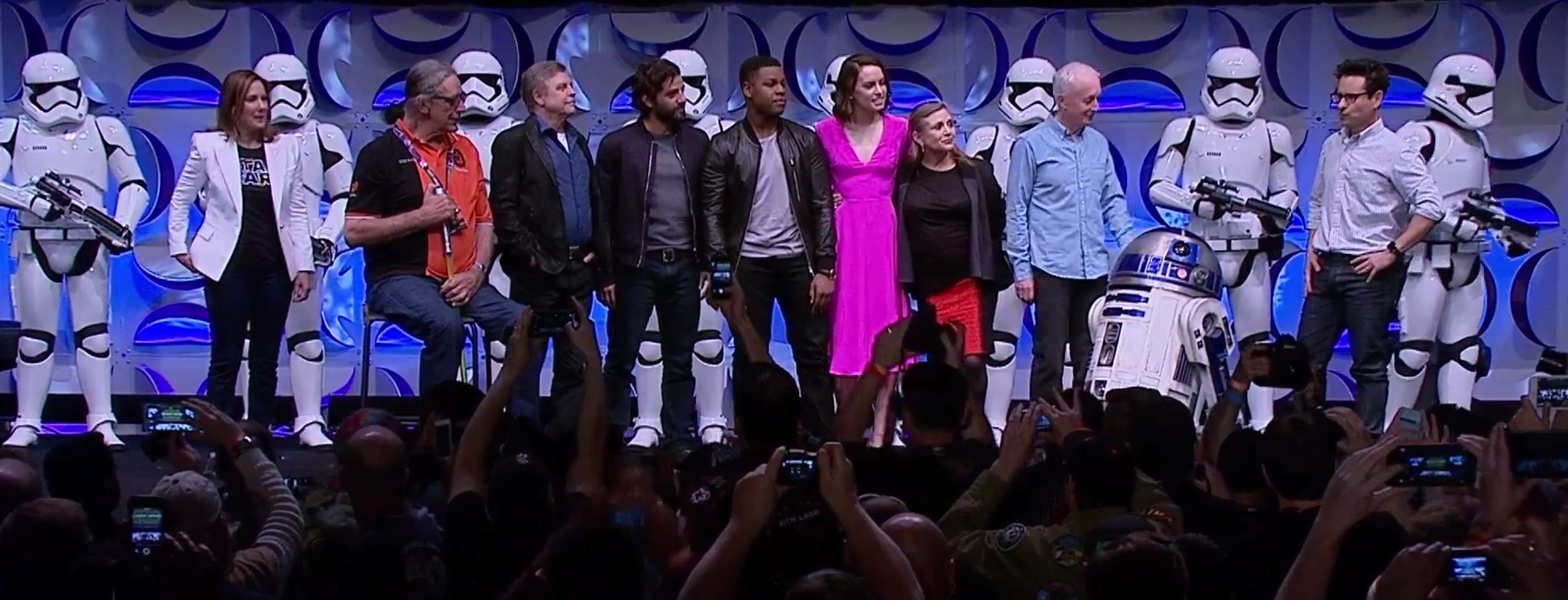 A familia completa de SW