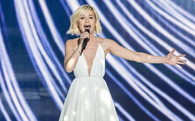 Eurovision Song Contest, Semi-Final 1, dress rehearsal, Vienna, Austria - 18 May 2015
