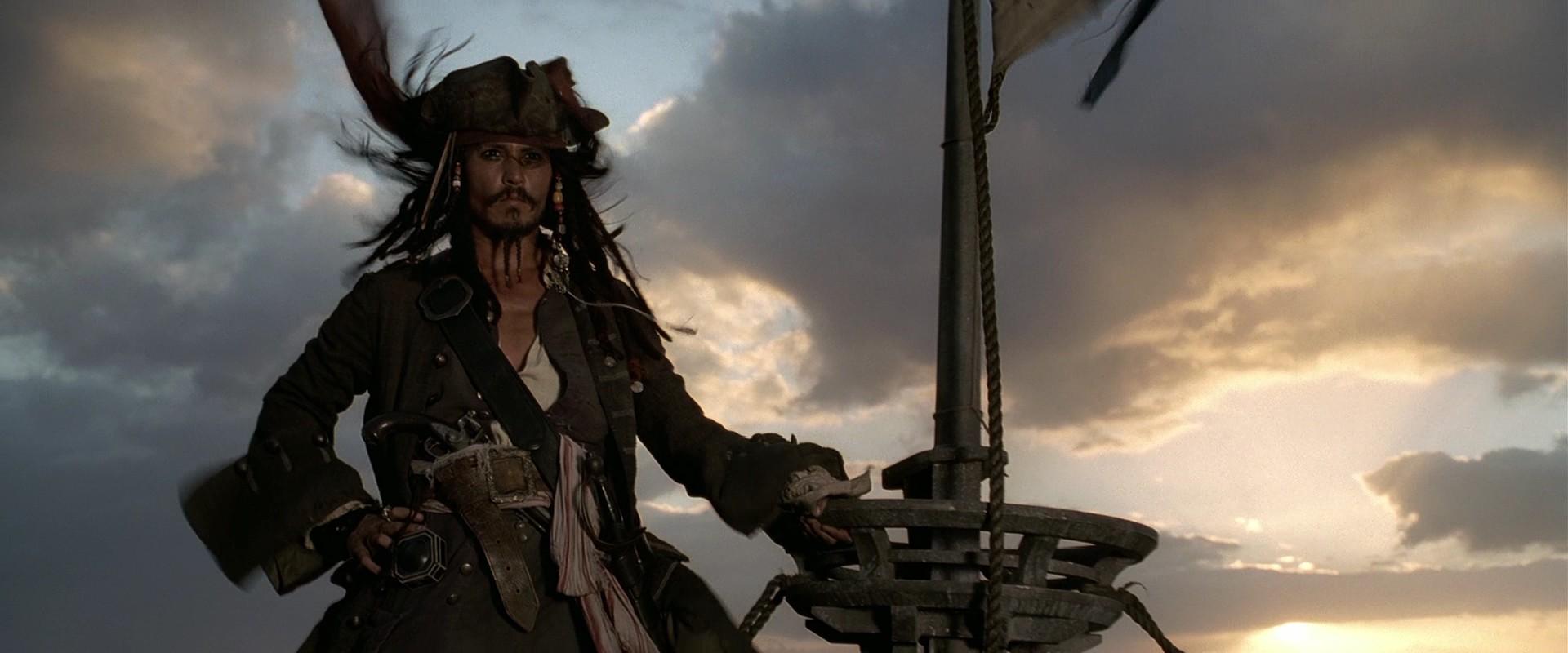Johnny Depp Piratas das Caraíbas