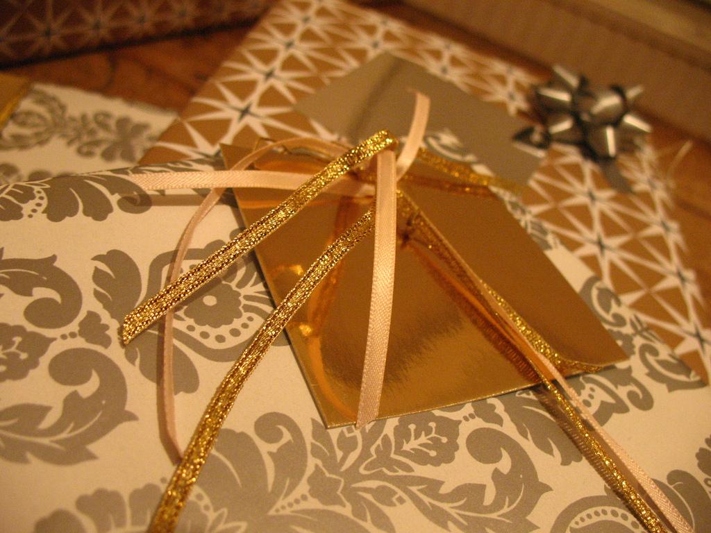 Presentes, Natal, embrulhos
