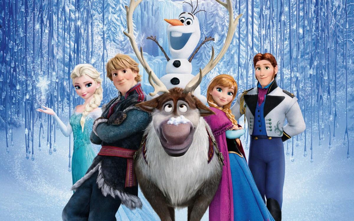 frozen-personagens
