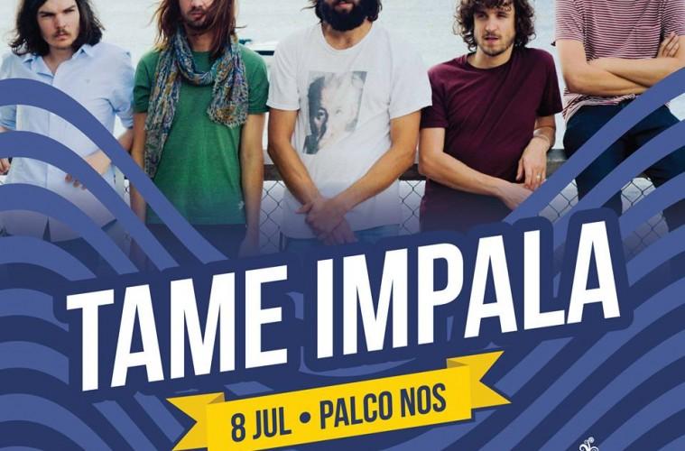 Tame Impala confirmados no NOS Alive