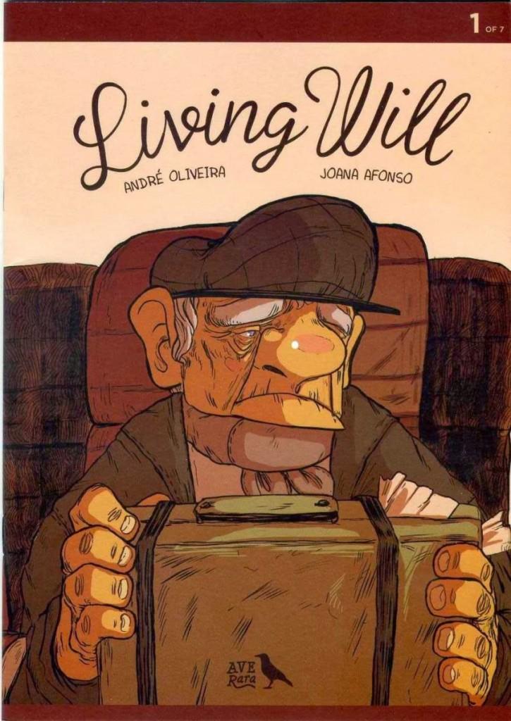 André Oliveira e Joana Afonso - Living Will 1, capa