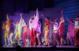 Dancing Queen a encerrar o espetáculo