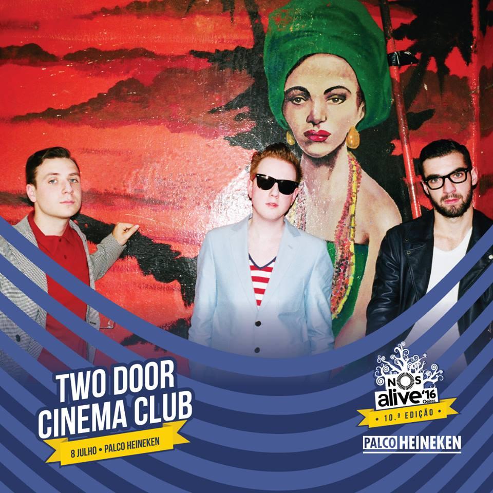 Two Door Cinema Club NOS Alive
