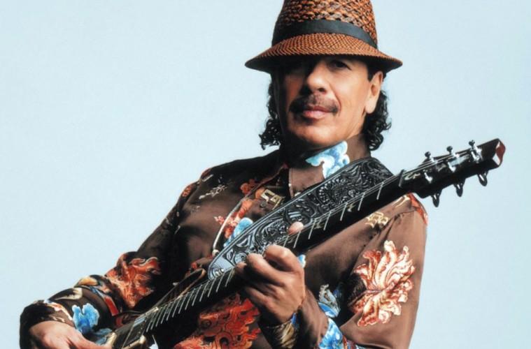 A guitarra de Santana de regresso a Portugal