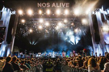 Arcade Fire, NOS Alive, foto de Arlindo Camacho