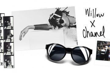 Campanha eyewear Chanel com Willow Smith