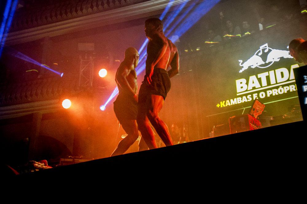 Os manos Cabral dançaram pela crew de Batida. Foto: Hugo Silva