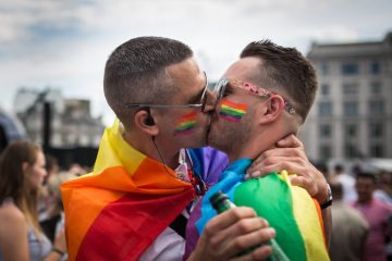 Gay Pride celebration in London