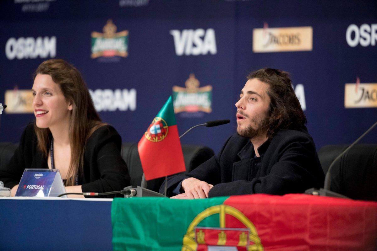 Salvador Sobral Eurovisão Portugal 2017