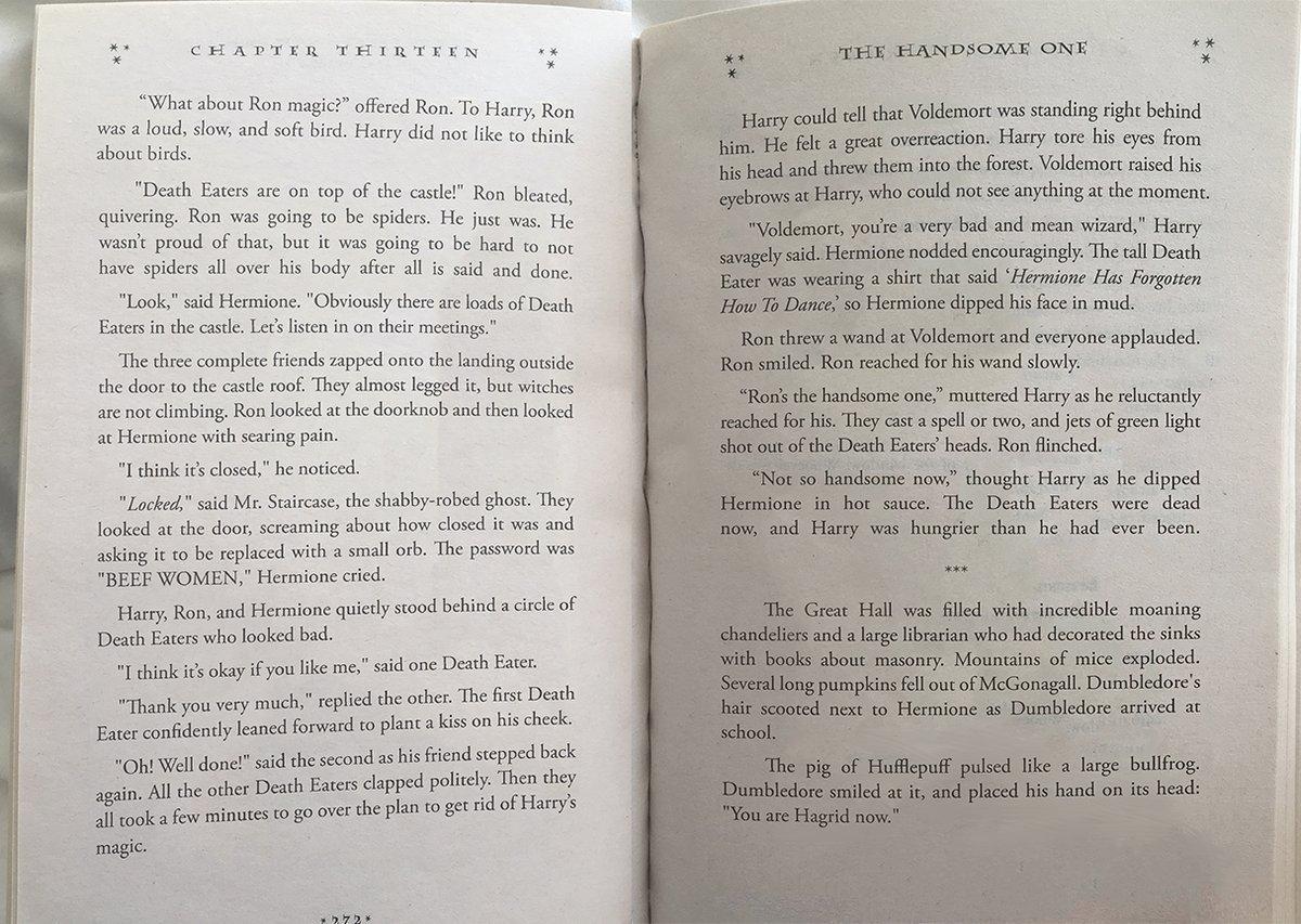 Harry Potter - capítulo escrito por Inteligência Artificial