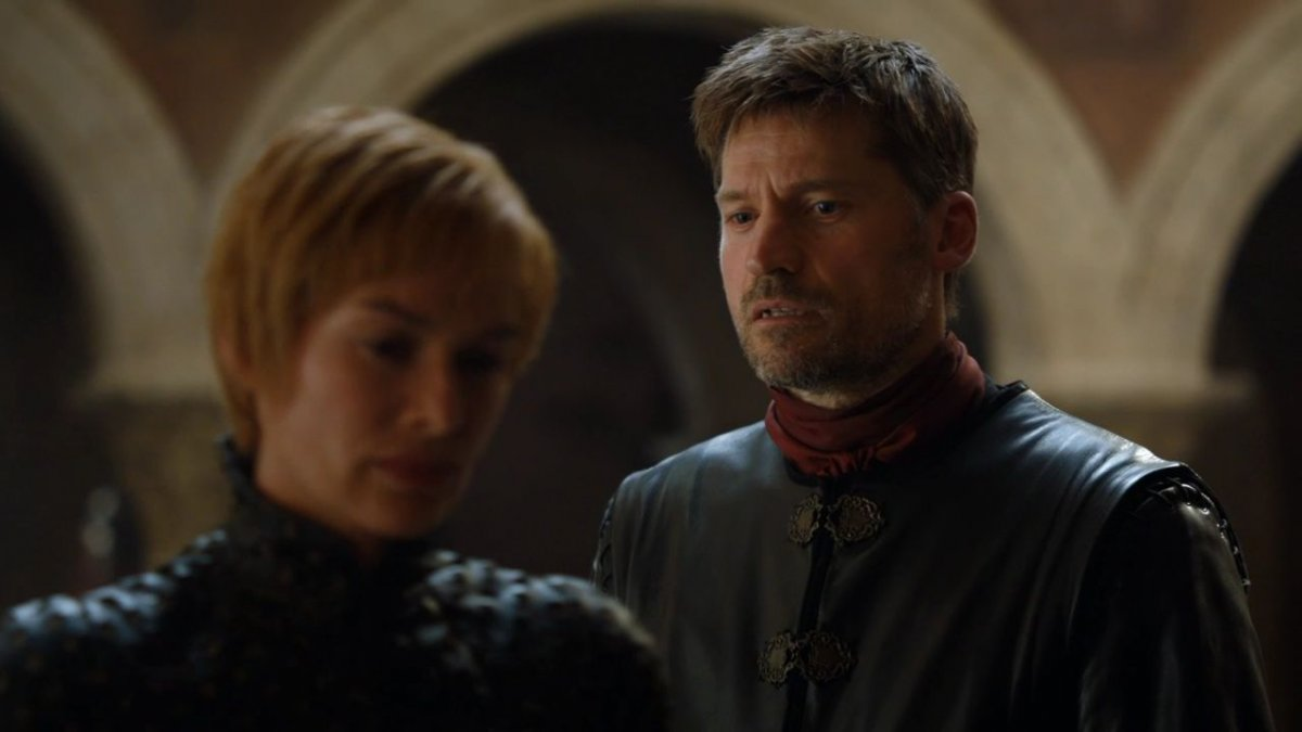 Jaime and Cersei Lannister; Game of Thrones; season 7