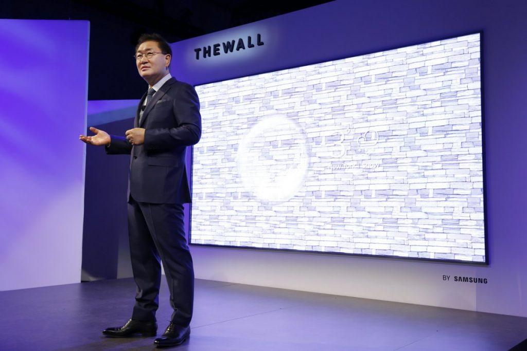 Televisão modular Samsung